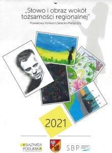 plakat konkursu literackiego